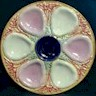 Some More Majolica Oyster Plates